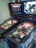 Pinball machine a boules recherché