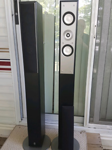 Yamaha stereo speakers