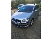 Volkswagen Touran 1.9 TDI S 7 SEATS 90PS (aluminium/silver) 2008