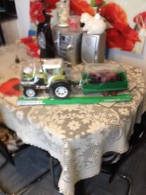 New tractor and trailor toys