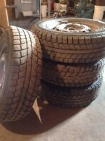 """13"""" studded winter tires"""