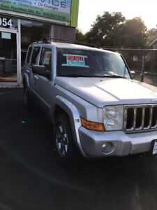 2007 Jeep Commander Yes SUV, Crossover
