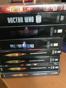 Doctor Who DVD Collection Series 1-7 and Specials