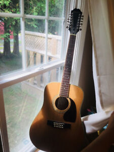 Epiphone 12 string acoustic guitar great condition $250 OBO