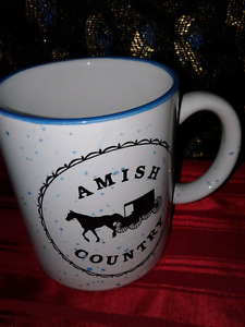 Amish Country Coffee Cup
