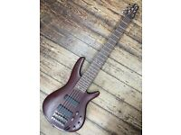 IBANEZ SR506 Made in Korea Active 6 String bass