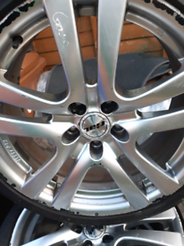 ALLOYS 5X112 AUDI MERCEDES 22540R18
