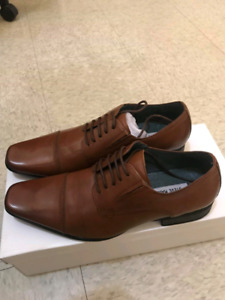 Steve madden dash tan leather size 8