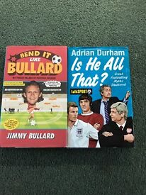 Two football books