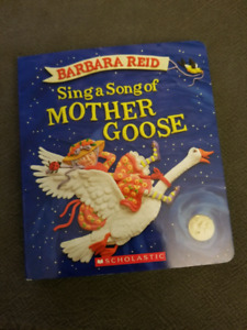 Sing A Song Of Mother Goose - Barbara Reid (Board Book)