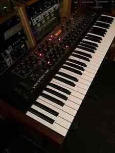 PROPHET 08 PE-MOOG LITTLE PHATY STAGE II-KORG MS 20 MINI