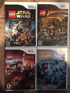 Jeu Wii Lego star wars lord of the rings  indiana Jones clone