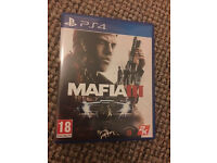 mafia 3 ps4 for sale .mint only played once please call only call ali 07961 444215
