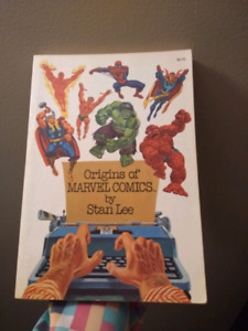 Origins Of Marvel Comics by Stan Lee, 1974. Near mint condition