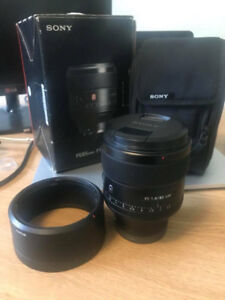 Sony FE 85mm f/1.4 Gmaster