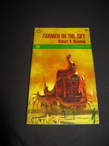 5 vintage 1960's SCI-FI collectible PB novels Asimov / Farmer