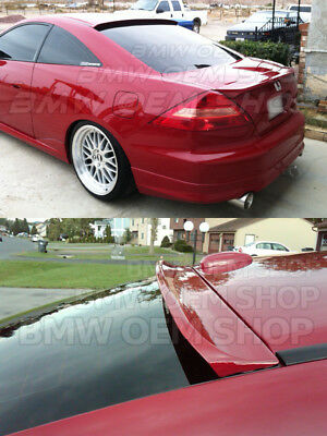2003-2007 UNPAINTED FOR HONDA ACCORD 7 COUPE K-STYLE ROOF SPOILER WING