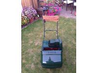 "Atco Windsor 14"" self propelled electric mower"