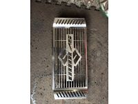 Chrome radiator cover for sv1000