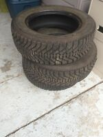 Winter tires with studs