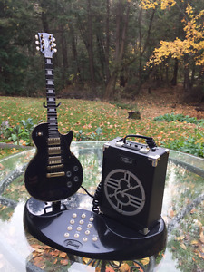 Telephone detailed small scale replica of a 1957 Gibson Les Paul