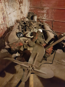 Vintage 1967 327 Chev Motor with 350 Automatic Transmission