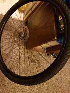 29 inch disc brake rim with tread