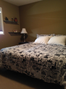 Cranston - Large Bedroom in a Clean and Quiet Home