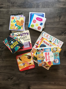 Lot of 10 - Baby Toddler Books - Numbers, Vocabulary, Colours