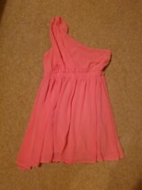 Coral Dress Ribbon Size 10