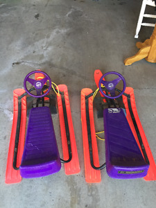 GT Snow Racer and Noma Snow Racer