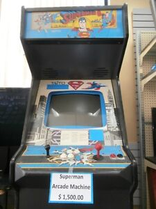 Supermam Arcade Machine