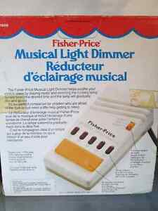 Vintage Fisher Price Musical light dimmers