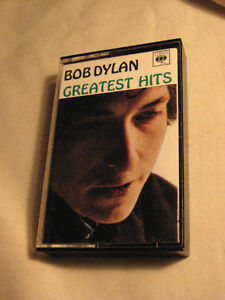 (3) Bob Dylan hard to find collectible cassettes