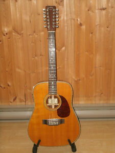 RARE , 1985 SIGMA / MARTIN SDR-12HD 12 STRING ACOUSTIC ELECTRIC