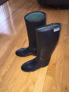 Dublin Kid's Rubber Riding Boots size 3 (fits like 2 - 2.5)