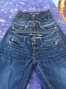 3 pairs of American Eagle Jeans Belleville Belleville Area image 1