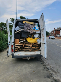 Rubbish removal, man with van,, cheaper than skip hire
