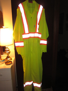 High Visibility Traffic Coveralls