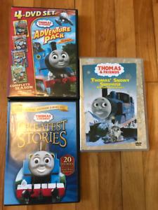 Various Thomas the Train DVD's