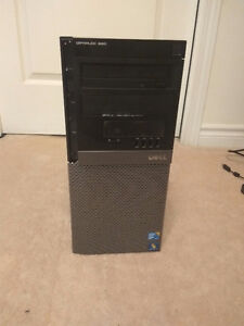 """Dell Intel i5 Desktop Computer with 23"""" LCD Monitor"""