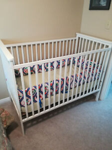 Crib and baby supplies