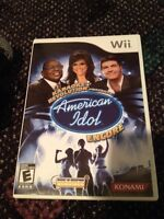 High school Musical and American Idol Wii Game