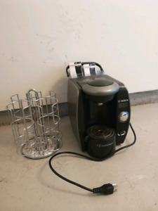 Tassimo Coffee Maker and pod Carousel