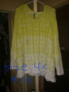 Plus size clothing 4x-6x
