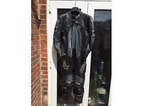 RST motorcycle leathers size 42