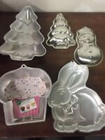 Cake pans / Cookie Cutters