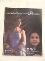 Miss Northern Ontario Pageant 2004 official program