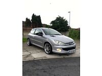 Peugeot 206 GT grand tourisme Limited addition