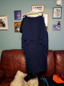 Ladies Navy Blue size 14 dress